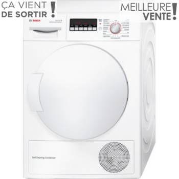 Sèche-linge à condensation Sèche linge pompe à chaleur BOSCH WTW84260 FF chez Boulanger
