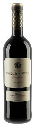 Weinflasche Marqués de Vitoria Crianza