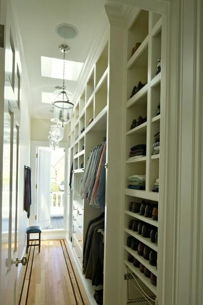 Best 25 Long Narrow Closet Ideas On Pinterest