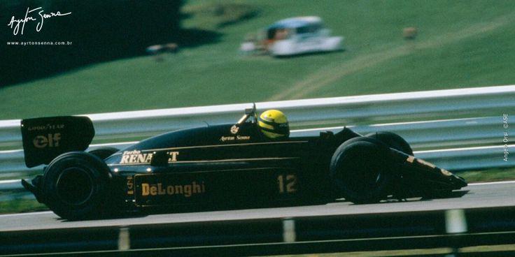 Grande Prêmio da Áustria – 1986   Ayrton Senna