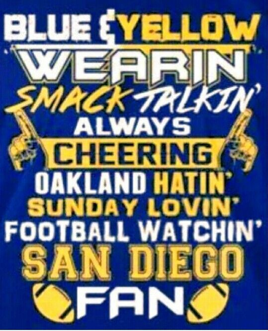 San Diego Chargers Football: 214 Best San Diego Chargers Love! Images On Pinterest