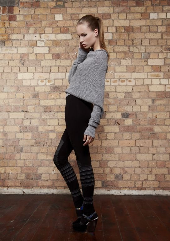 kyleedavis.com Chain Mail Dome Sweater made from 80% Baby Alpaca and 20% Silk