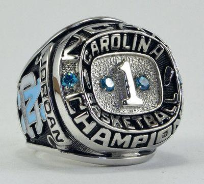 1982 North Carolina Tar Heels Basketball NCAA Championship Ring Michael Jordan | eBay