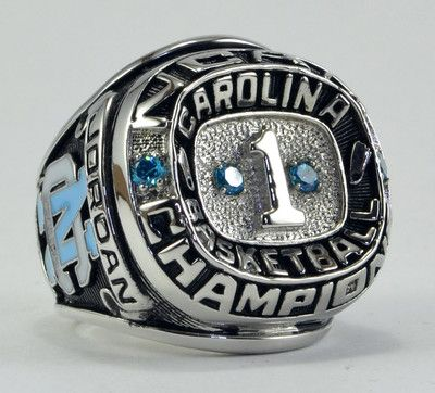 1982 North Carolina Tar Heels Basketball NCAA Championship Ring Michael Jordan | eBay