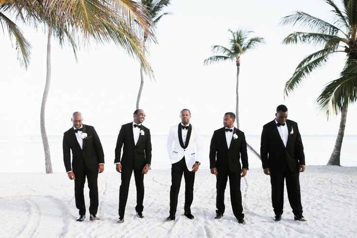 This glam wedding will have you saying beach please!