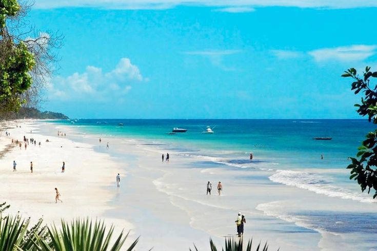 Diani Beach, Kenya, 10 kilometers of unspoilt beach, only 30 km;s from Mombasa. #TravelTuesday. This is where we want to be.