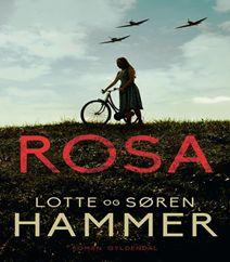 """Rosa er en roman skrevet af Lotte Hammer og Søren Hammer, der nok er mest kendt for deres kriminalserie med kriminalinspektør """"Konrad Simonsen"""" hos Københavns politi. Rosa er en ny roman (2016), der foregår i besættelsestiden, og vi følger Rosa, hendes søster og William.  Klik på forsidefotoet for at læse mere om denne nye bestseller og skønlitterære roman."""