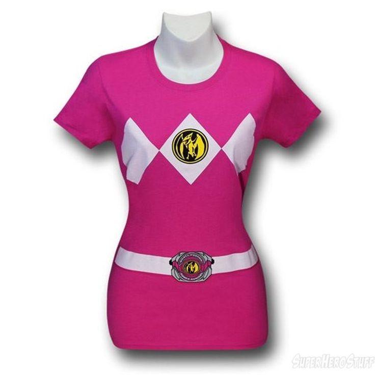 Images of Power Rangers Pink Ranger Women's T-Shirt
