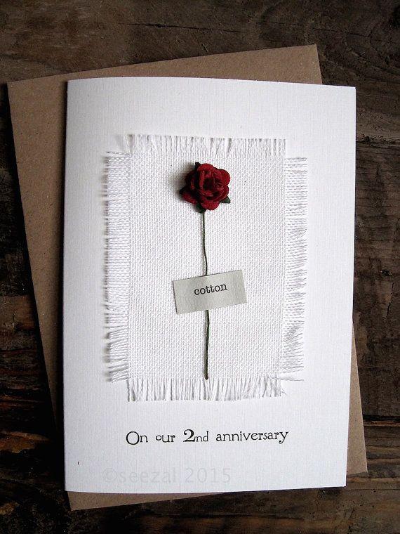 2nd Wedding Anniversary Cotton Gift Ideas: Best 20+ Second Anniversary Gift Ideas On Pinterest