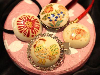 日本伝統工芸体験・本場薩摩焼の郷・美山で 『薩摩ボタンづくり』体験