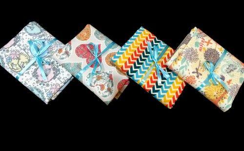 Shrelo Fat Quarter Vintage pattern