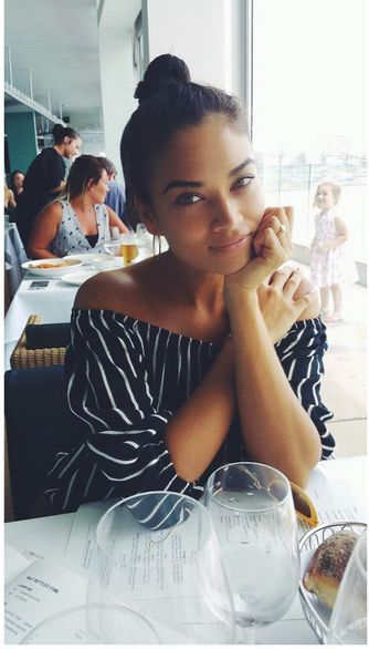 Shanina Shaik in FAITHFULL the brand #faithfulltravels