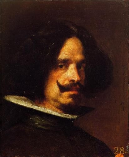 Self-Portrait - Diego Velazquez 威拉茲蓋茨(1599-1660)西班牙文藝復興時期最偉大的畫家,對後世畫家影響很大,是一位現實主義者,畫中人物幾乎走出畫面。大多作品收藏於馬德里普拉多博物館。