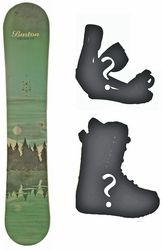155cm Burton Cruzer Lake Used Snowboard, Build a Package with Boots and Bindings