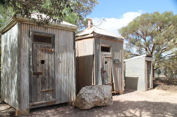 Gaol Cells in Cook - These cells use to hold prisoners awaiting the next train. They are one of the few standing buildings left in the ghost town, but still a great place to stop and stretch your legs.
