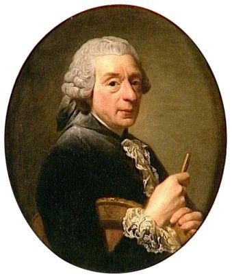 Francois Boucher, 1760 (Alexander Roslin) (1718-1793) Musée National du Château et des Trianons, Versailles