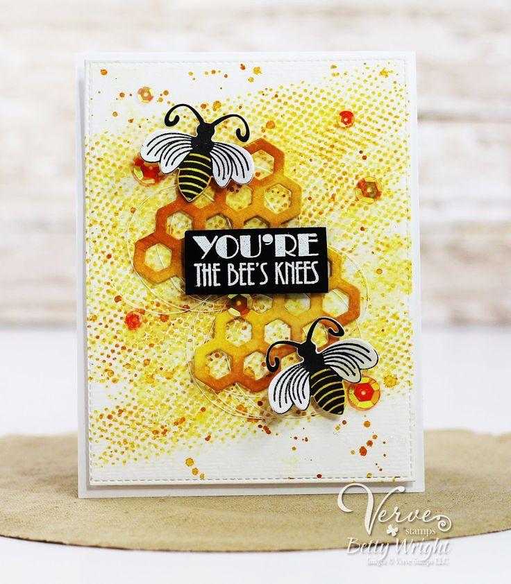 Открытка пчелы
