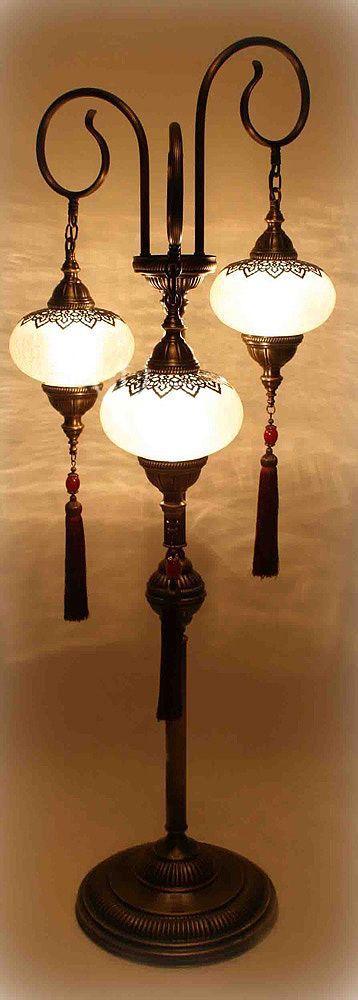 Ottoman Floor Lamp
