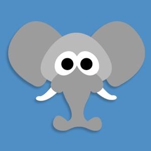 Masketeers Printable Masks: Free Printable Elephant Mask