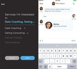 Need help with your love life? This app calls in the experts     - CNET Ona matches you with dating experts not other singles.                                                      Ona                                                  You need help.  Thats the premise of the latest dating app hoping to hit screens of the lonely lovesick or languishing.  Instead of matching daters with local singles Ona which launches Tuesday matches daters with dating coaches stylists therapists and…