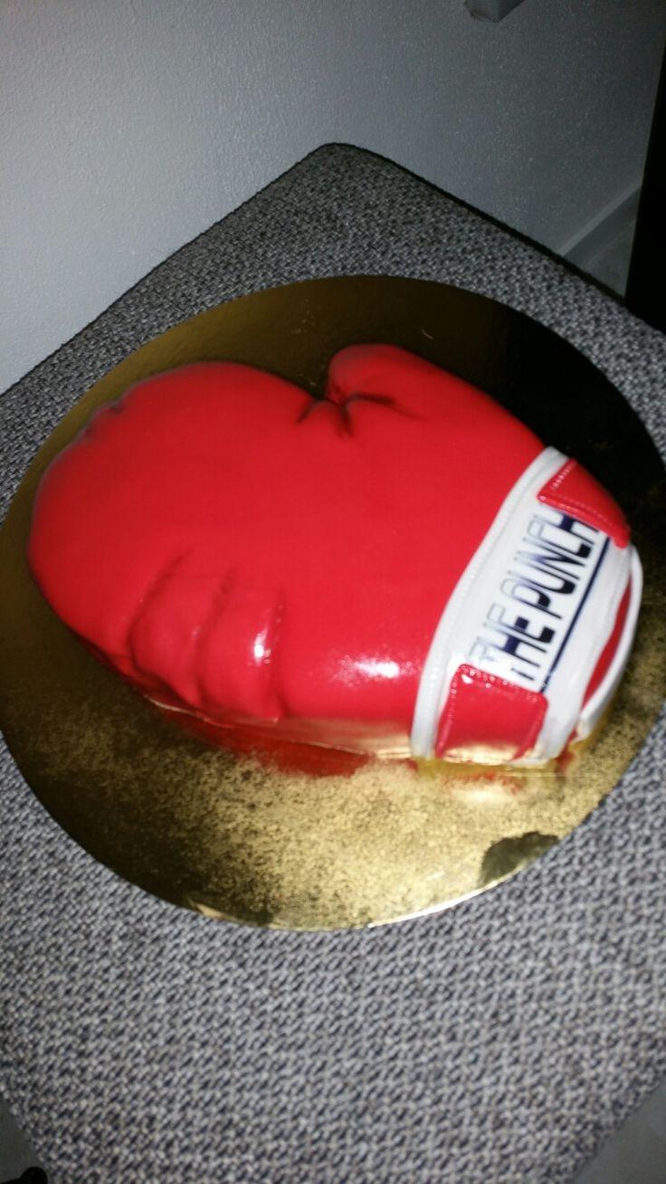 Bokshandschoen taart