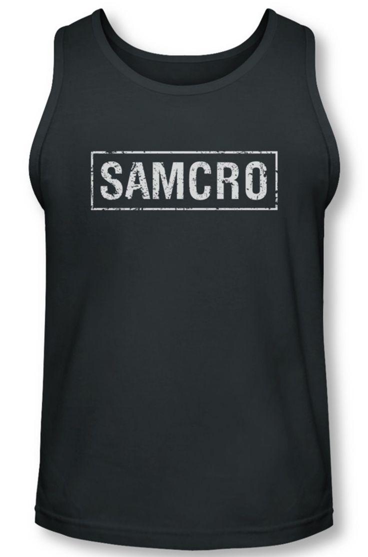 Sons Of Anarchy Tank Top Shirt Samcro Charcoal Tanktop Sons Of Anarchy Samcro Shirts Sons Of Anarchy Tank Top Shirt Samcro Charcoal Tanktop Officially