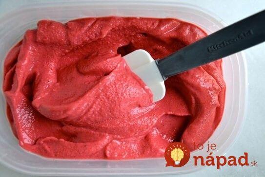 Fotopostup: 4 ingrediencie a 5 minút. Pripravte si zdravý mrazený jogurt