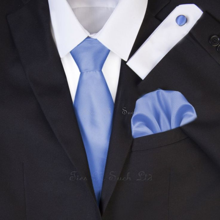 best cornflower blue wedding ties - Google Search