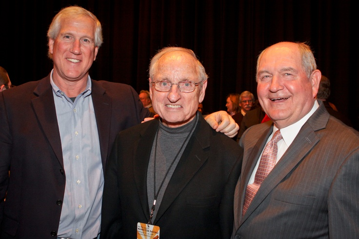 UGA's Ray Goff & Vince Dooley and Governor Sonny Perdue at 2009 Macon Film Festival.