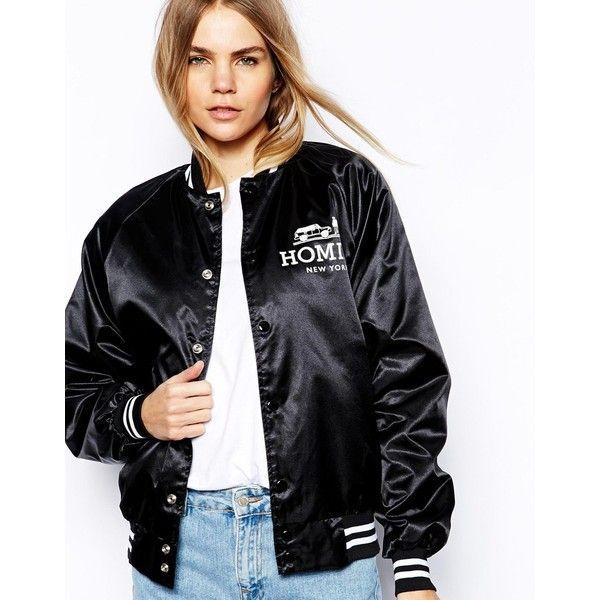 25  melhores ideias de Black letterman jacket no Pinterest ...