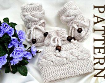 Punto P A T T E R N conjunto bebé patrón de bebé por Solnishko43