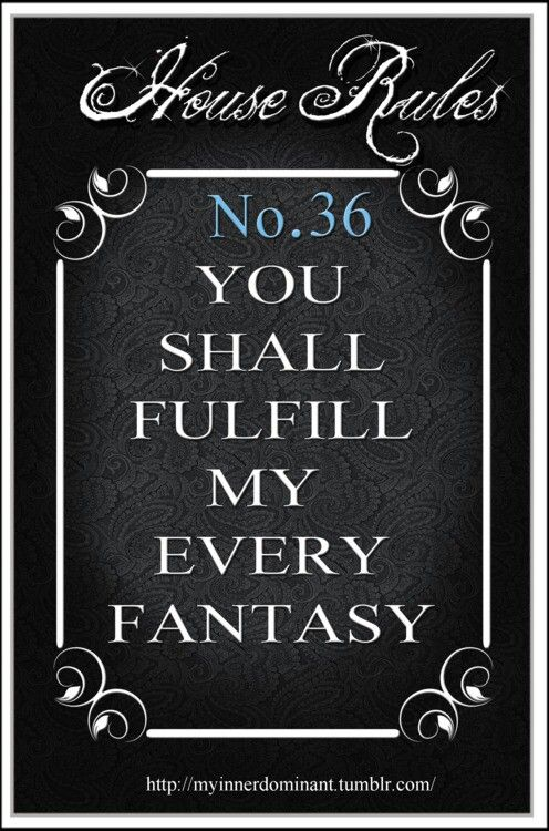 116 Best Bdsm House Rules Images On Pinterest  House -4322
