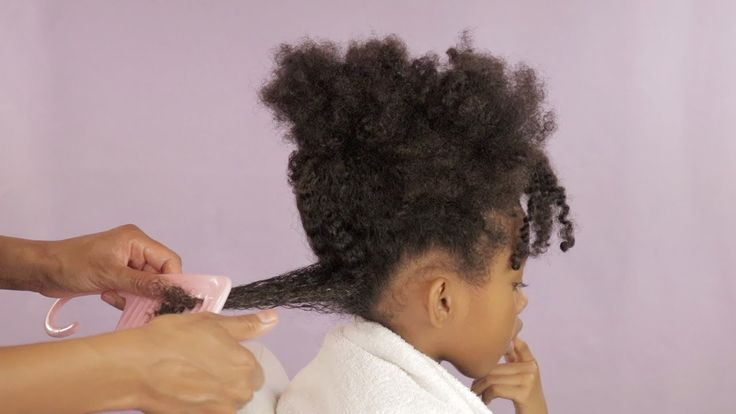 How To Detangle Curly Hair – Curly Haircare For Kids [Video]