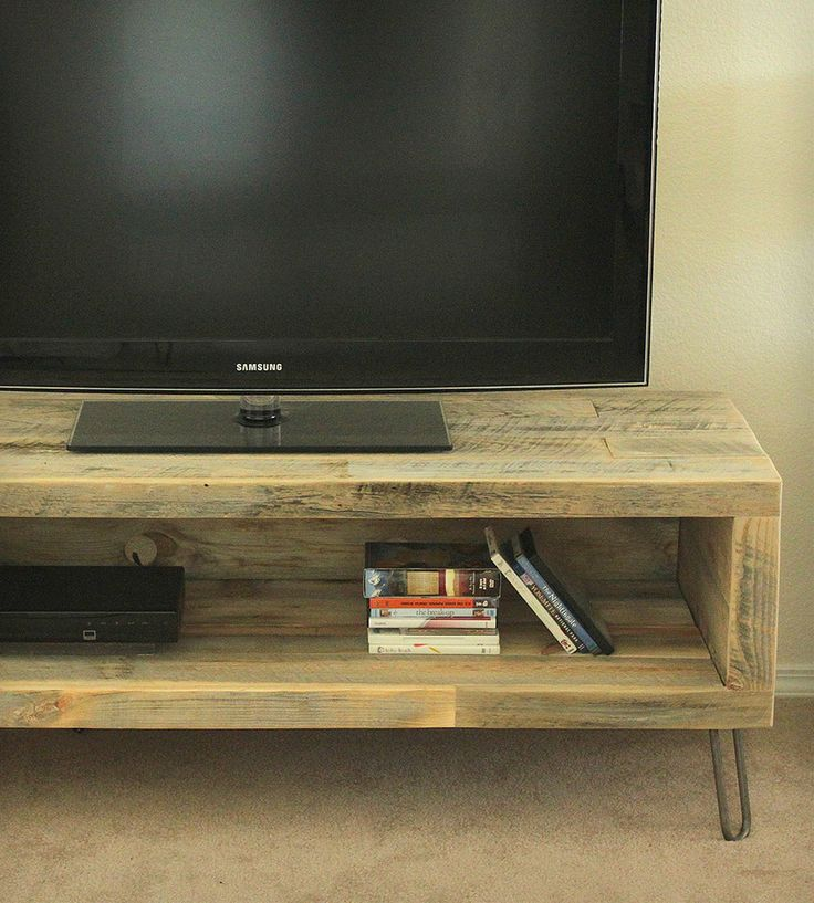 Large Reclaimed Wood Media Console   Home Furniture   J W Atlas Wood Company   Scoutmob Shoppe   Product Detail
