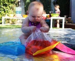 7 super baby play ideas // 7 ideas de juego para bebés