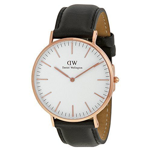 #Daniel #Wellington Men's 0107DW Classic Sheffield #Watch with Black Band  Full review on: http://toptenmusthave.com/best-mens-watches/