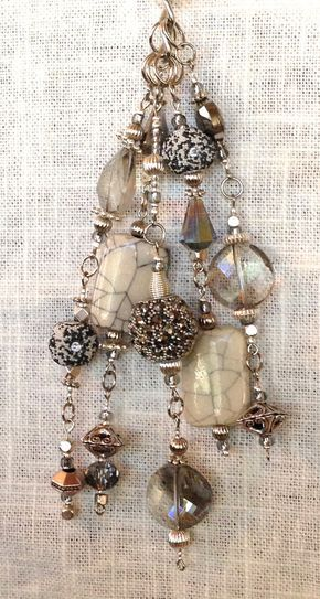 Purse jewelry to compliment any handbag clutch or by NikkaiDesigns, $65.00