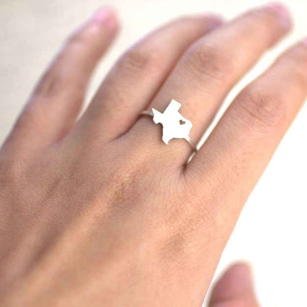 A ring that knows where your heart is…