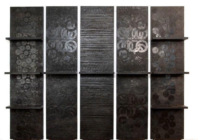 Ingrid Donat, 'Bibliotheque Murale en 5 Elements,' 2008, Carpenters Workshop Gallery