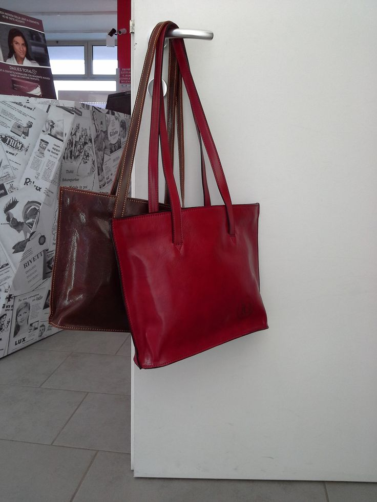 new bag #red #brown #treviso #veneto #handmade