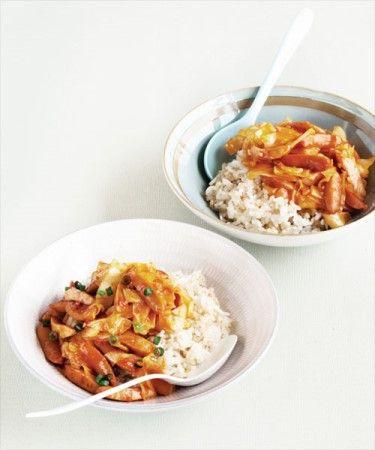 양배추 소시지덮밥 이미지 1