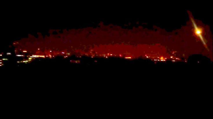 Ночная Москва с Крылатских Холмов