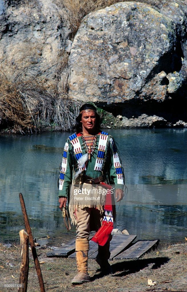 Pierre Brice als Winnetou, Bad Segeberg, Karl-May-Spiele, Promi