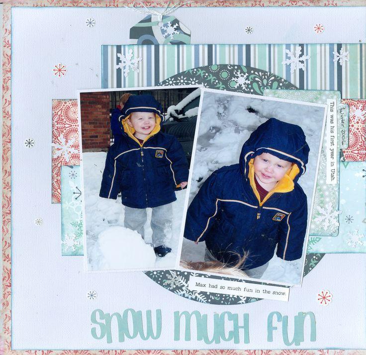 Snow much Fun - Scrapbook.com
