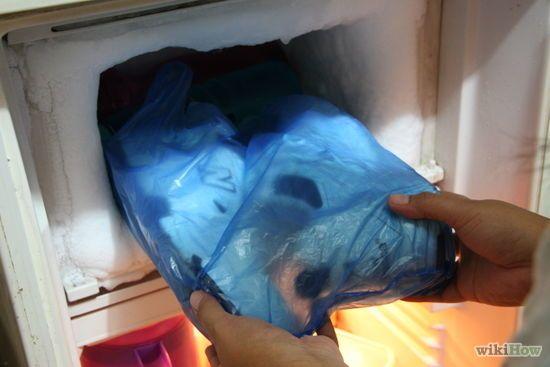 sac plastique en guise de protection