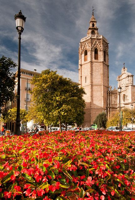 Valencia Cathedral and El Miguelete Spain