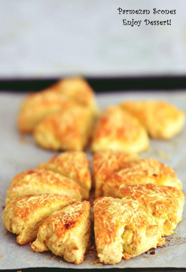 Parmezan scones
