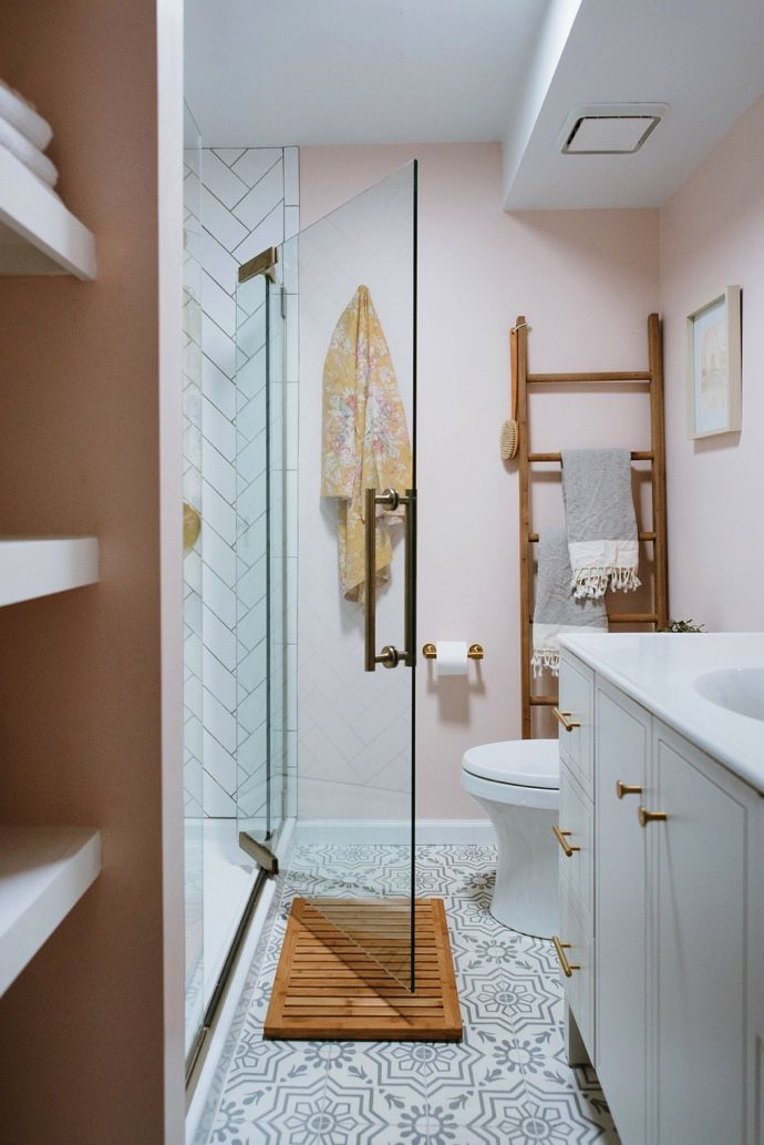Lots Of Good Ideas Caitlins Dramatic Bathroom Makeover With Kohler