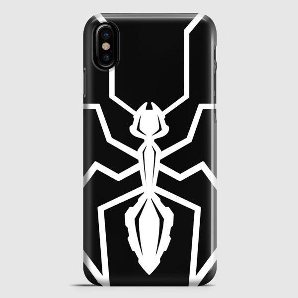 Marc Marquez Mm93 Black Ant Logo iPhone X Case