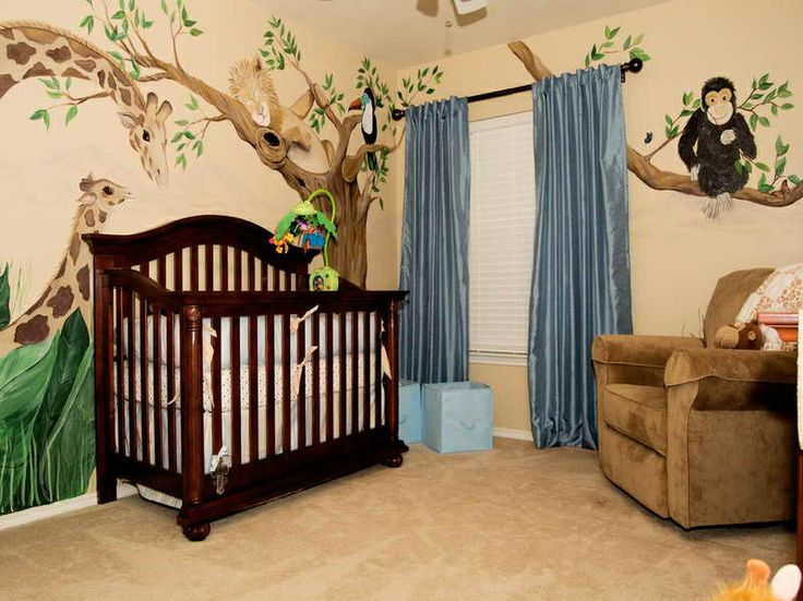 Best Baby Room Ideas Images On Pinterest Baby Room Babies - Baby boy forest nursery room ideas